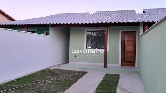 Casa Com 2 Dormitórios À Venda, 75 M²- Cordeirinho (ponta Negra) - Maricá/rj - Ca4143