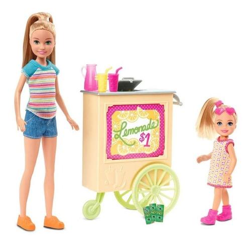 Barbie Set Stacie Stand De Limonada Original  Nueva Mattel