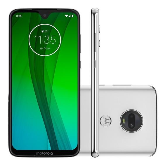 Celular Motorola Moto G7 Blanco 64gb 4gb Dual Cam 12 Cuotas
