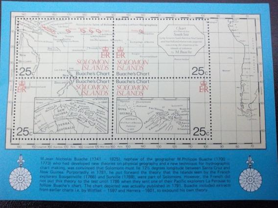 Bloque Islas Salomón Mapa Nuevo La Plata
