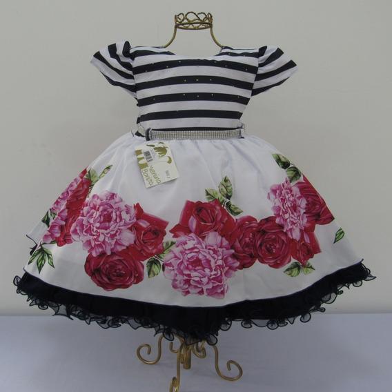 Vestido Infantil Para Festa, Casamento Etc Fino Acabamento