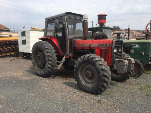 Tractor Massey Ferguson 1360 S-4 Doble Tracción 160hp.