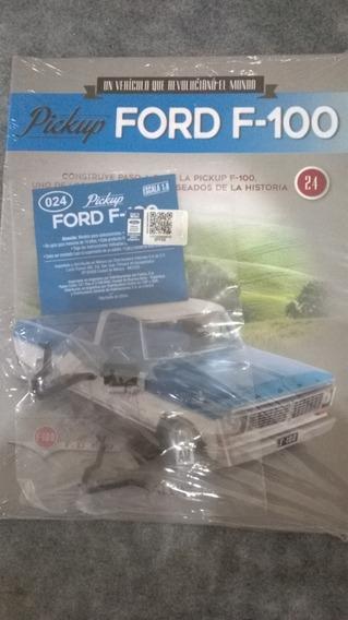Pickup Ford F - 100 Para Armar Nro 24