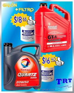 Aceite Total Y Kendall Más Filtro 20w50 10w30 15w40