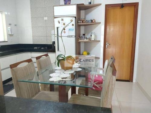 Imagem 1 de 13 de Casa Com 3 Dormitórios À Venda, 96 M² Por R$ 555.000,00 - Parque Jambeiro - Campinas/sp - Ca3197