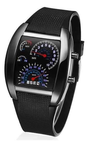 Reloj Led Digital Deportivo Rapido Furioso Carro Hombre