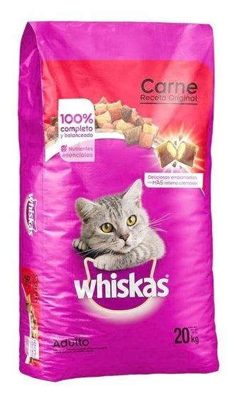 Whiskas Original Alimento Para Gato Bulto 20 Kg