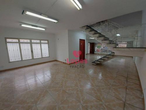 Imagem 1 de 30 de Casa Com 4 Dormitórios, 580 M² - Venda Por R$ 3.800.000,00 Ou Aluguel Por R$ 12.000,00/mês - Tatuapé - São Paulo/sp - Ca0554