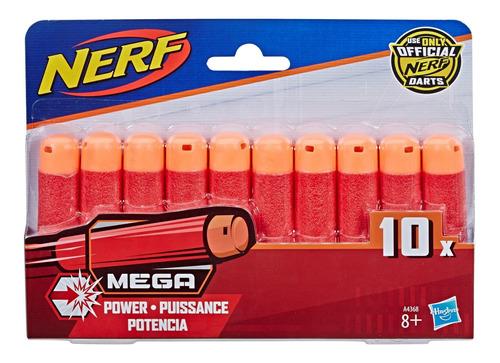 Refil Com 10 Dardos Para Lançador Nerf Mega Da Hasbro A4368