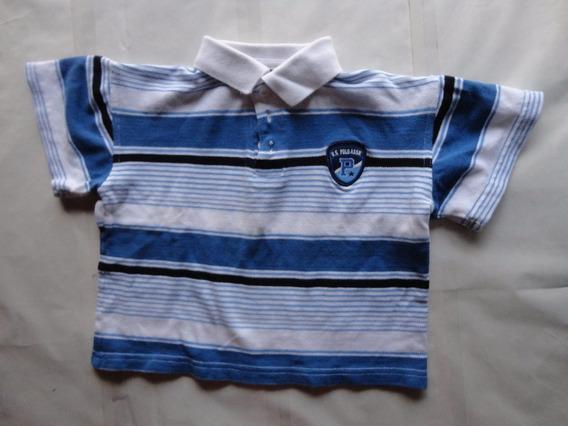 Camisa De Cuello Para Niño Marca Polo Talla 5 - 6