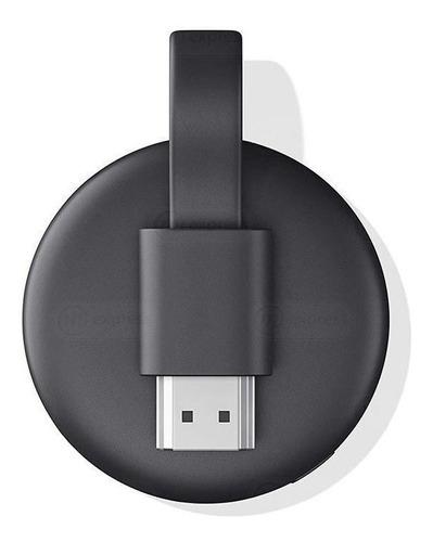 Imagen 1 de 3 de  Google Chromecast 3rd Generación  Full Hd  Carbón