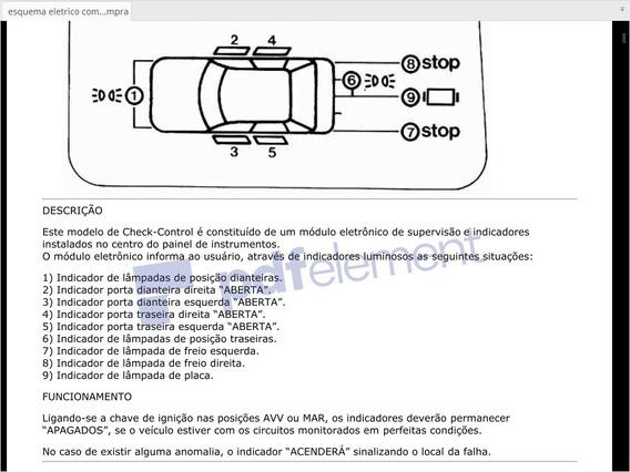 Esquema Eletrico Completo Check Control Fiat Tempra