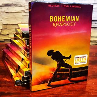 Bohemian Rhapsody Blu-ray + Dvd Original Nuevo En Stock