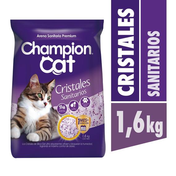 Champion Cat Cristales Sanitarios 8 X 1,6 Kg