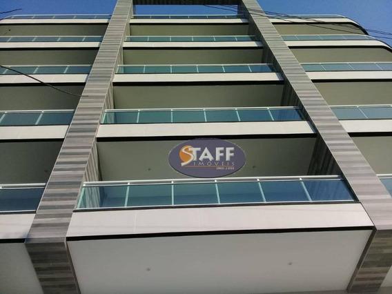 Apartamento Com 01 Dormitório Para Aluguel Fixo, 74 M² - Bairro Braga - Cabo Frio/rj - Ap0661