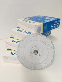 Disco Vdo Tacografo Original 7 Dias Semanal 20 Cx 125km