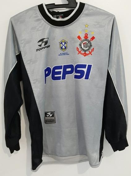 Camisa Corinthians Goleiro Topper Pepsi 2000