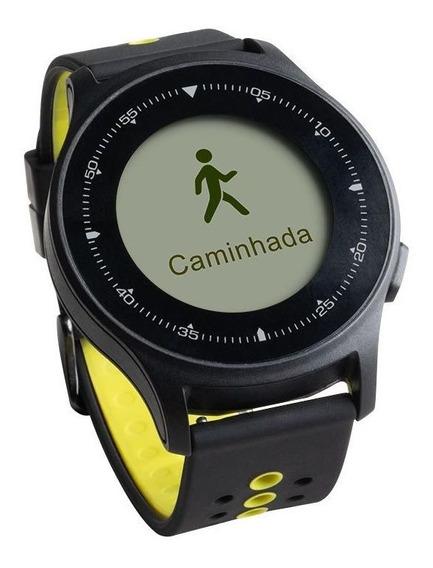 Monitor Cardíaco Sportwatch Chronus + Gps À Prova D