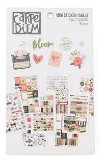 Mini Libro De Sticker Carpe Diem Bloom