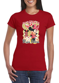 Playeras Personalizadas Minnie Mouse Mimi