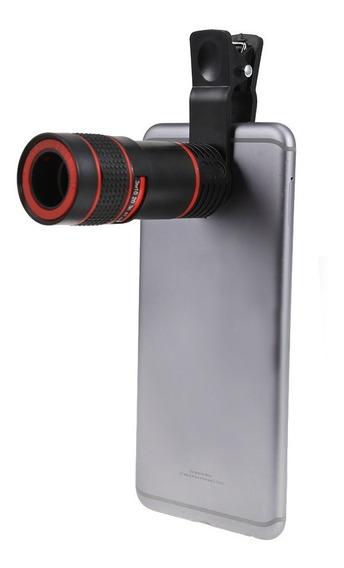 Telescopio 8x Para Celular Lente Monócular Zoom*