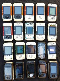 Lote Com 20 Celulares Nokia 5200 (leia A Descrição)