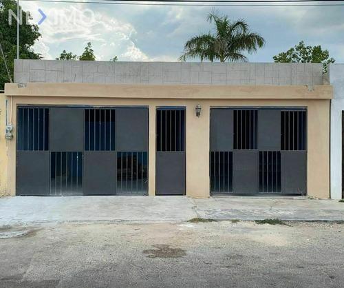 Imagen 1 de 10 de Venta De Casa De Una Planta En Col. García Gineres Mérida Yucatán