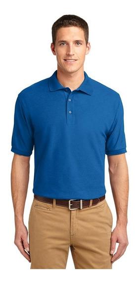 Camisetas Tipo Polo En Color Para Hombre Y Dama 220 Gramos