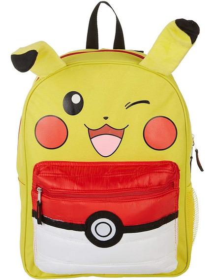 Pokemon Pikachu - Mochila De 16.0 In, Con Bolsillo De Hojald