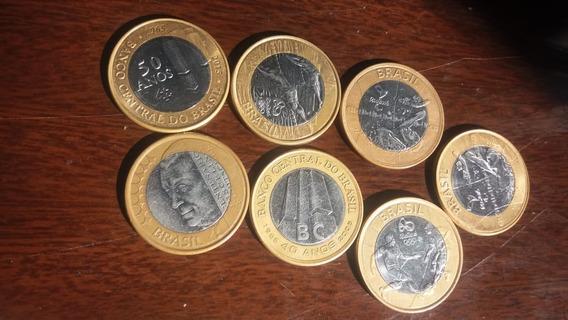 Moedas De R$ 1,00 Das Olimpíada,do Banco Central 40 /50 E Jk