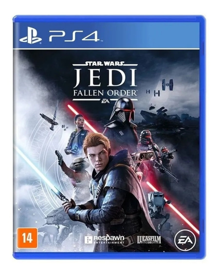 Star Wars Jedi Fallen Order Jogo Ps4 Mídia Física + Brinde