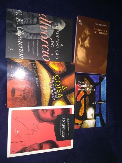 Coleção Livros G. K. Chesterton Lote Novo 18 Livros