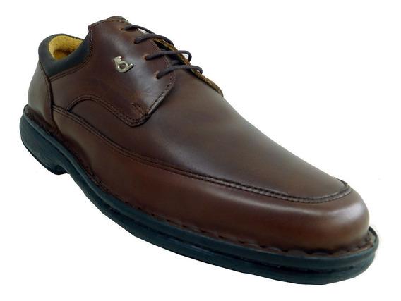Zapato Hombre Cuero Red Horn Italy Acordonado Talles 39 A 50