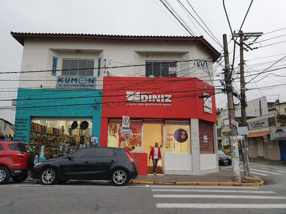 Salão Comercial Para Locação, Centro, Poá - Sl0033. - Sl0033