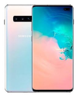 Samsung Galaxy S10+ S10 + G975 128gb 8gb Ram 4g - Semi Novo