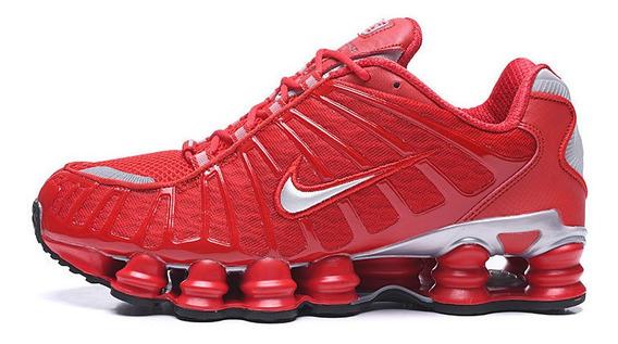 Zapatillas Shox Tl1 Rojo Reflective