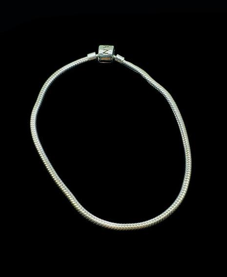 Pulseira Bracelete Pandora Em Prata
