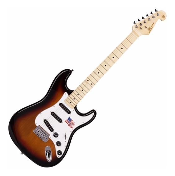 Guitarra Sx Vintage American Alder Sunburst Sst 3ts