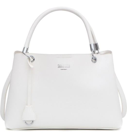 Bolsa Santa Lolla Texturizada Risco Branco 278f