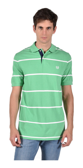 Polo Classic Fit Chaps Verde 750705705-2yzg Hombre
