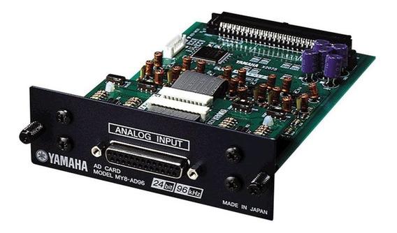 Interface De Áudio Yamaha My8ad96