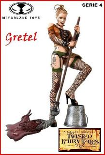 Twisted Fairy Tales: Gretel. Serie 4. Mcfarlane Toys. 2005.