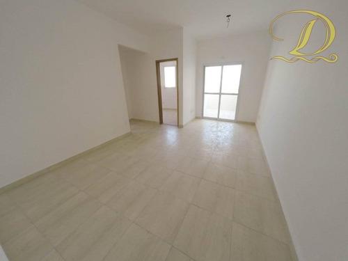 Apartamento Novo À Venda De 2 Quartos Com Suíte E Varanda No Canto Do Forte, Aceita Financiamento Bancário!!! - Ap3539