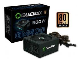 Fonte Gamemax 500w 80 Plus Bronze - Gmx Gm500