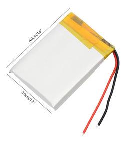 Bateria Pequena Polímero De Lítio Lipo Recarregável