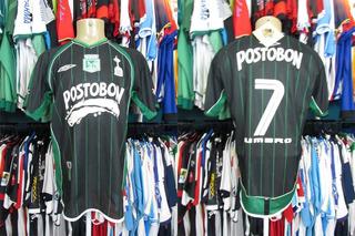 Atlético Nacional 2003 Camisa Reserva Tamanho M Número 7.