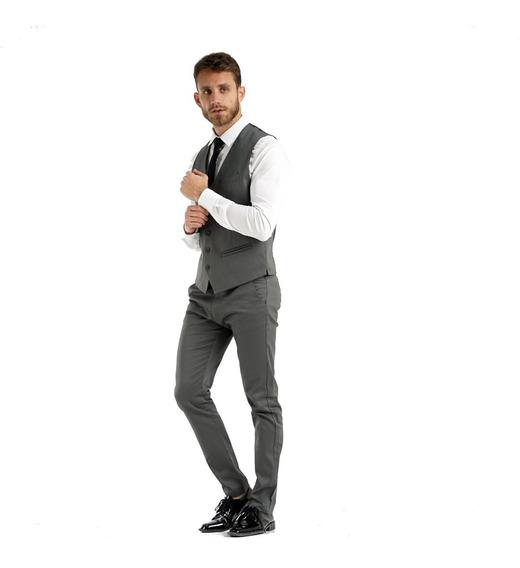 Chupines De Vestir Con Chaleco Y Zapatos Charol Acordonados