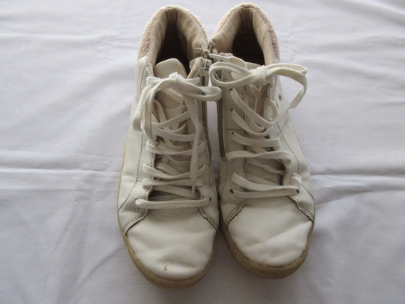 Zapatillas - Botitas Blancas, Para Nena, Marca Zara!!, Muy B