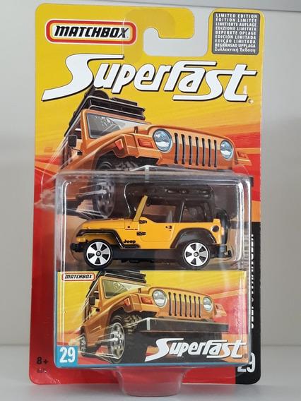 Matchbox Superfast - Jeep Wrangler