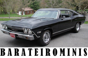 1:24 Chevrolet Chevelle 1968 - Ss 396 Barateirominis